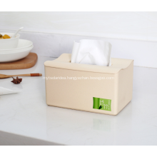 Creative Bamboo Fiber Plastic Tissue Boxes