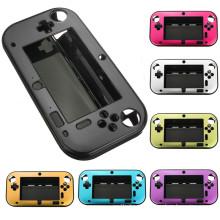 Анти-шок Жесткий защитный Алюминиевый металлический Ящик для хранения Крышка Чехол для Nintendo Wii вы и wiiu геймпад