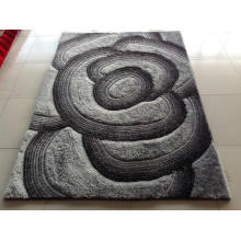 Inspissate Anti-Slip Flower Carpet Rug Textile