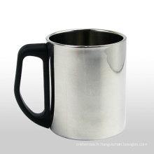 Double paroi en acier inoxydable Espresso café tasse Mug à café