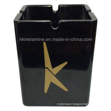 Tall Melamine Ashtray with Logo (AT057)