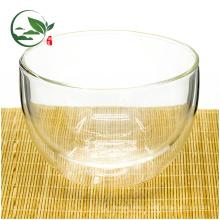 Горячая продажа двойными стенками изолированный Маття чаша стекло