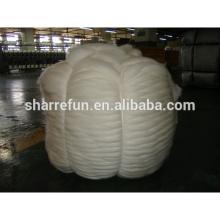 18.5-21.5Micron Natural White Chinese Sheep Wool Roving