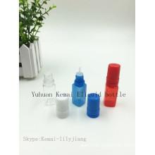 10ml E Flüssige Flasche mit langer dünner Spitze Manipulation Beweis Kappe und Manipulation Ring