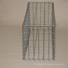 Malha soldada galvanizada da caixa de Gabion