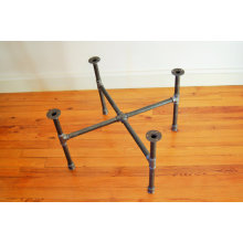 Structure low cross industrial furniture table feet