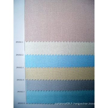 Semi Blockout Pearl Roller Shade Fabric (série JP0502)