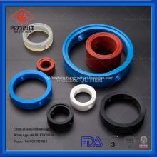 sanitary stainless steel silicone viton gasket seal