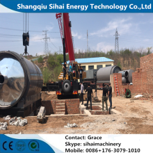 Waste Rubber Thermal Cracking To Oil Machine