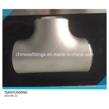 Pipe Fittings Stainless Steel Welded Equal Tee/Straight Tee