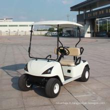 Ce chariot de golf électrique homologué CE 2 places (DG-C2)