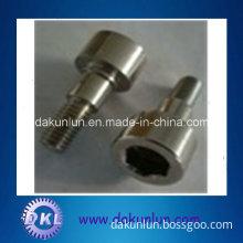 OEM Stainless Steel Round Head Step Screw, Hex Socket Step Screw