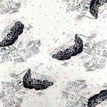 Tissu 100% rayonne Tissus imprimés pour robe d'été