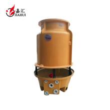 tour de refroidissement d'eau de frp avec le remplisseur de PVC et le ventilateur d'ABS