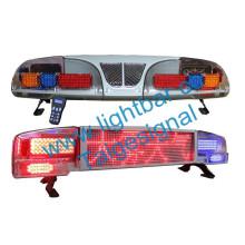 Policía de advertencia LED barra de luz de pantalla (TBD-3800) de impermeabilización