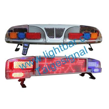 Polícia de aviso LED impermeabilização Display tela luz Bar (TBD-3800)