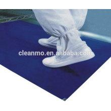 O removedor pegajoso azul da poeira de 24''x36 '' remove da poeira usado no hospital / laboratório 4.5C (0.045MM)