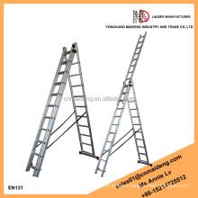 EURO hot sale Multifunction Extension A Frame Aluminium Ladder