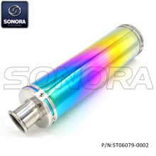 GY6-50,125 Colorfual Performance Tubo de escape (P / N: ST06079-0002) Qualidade superior