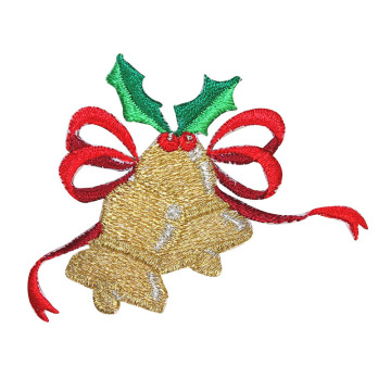 Julprydnader Holiday Broderade Patches