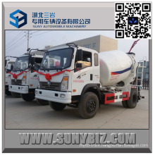 Sinotruk King 4 M3 Mini Cement Mixer Truck