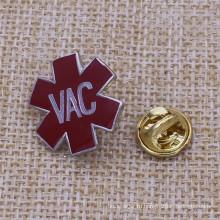 Uniqe Design Высокое качество VAC Мягкий эмалевый нагрудный знак