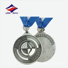 Casting logo nice quality zinc alloy medals metal made in china