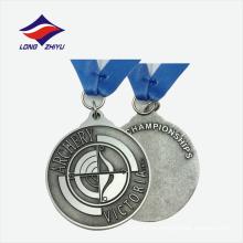 Отливка логотипа хорошее качество сплава цинка медали металла сделано в Китае