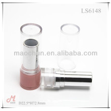 LS6149 2015 new round co-injection molded lipstick tube