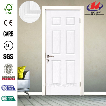 MDF HDF Panel Interior Swing Door