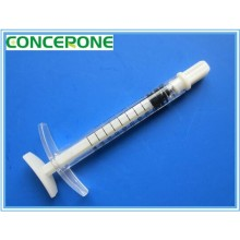 Medical Beauty Syringe 1ml Female Luer Lock with Cap