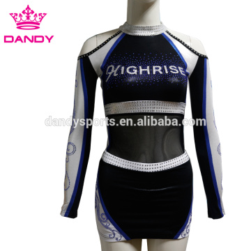 High School Spandex Cheerleading Uniforms