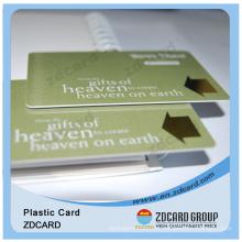 Preço de Fábrica Impresso Personalizado 13.56 MHz Proximity Chip Card