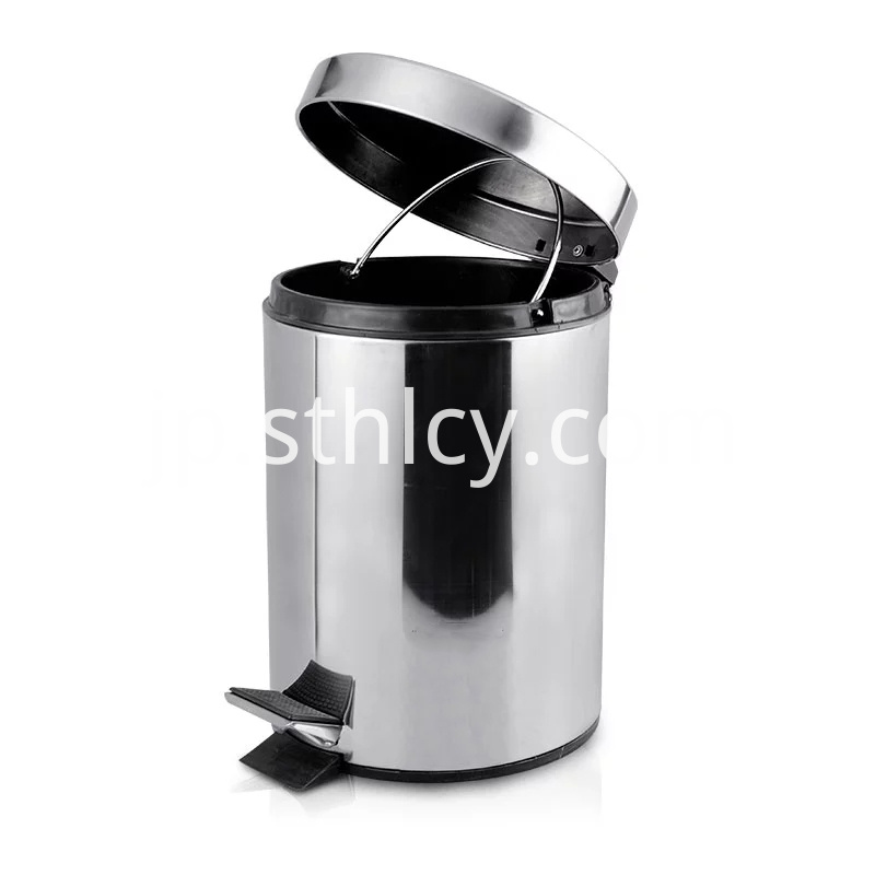 Pedal Stainless Steel Trash Can