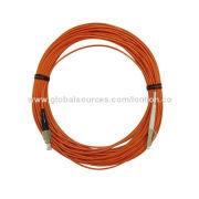 Optical fiber patch cord, Fc-Lc MM Sx