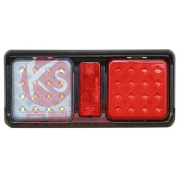 Feux arrière LED pour Eclairage de remorque lourde ARRIERE combinaison d'arrêt indicateur de queue