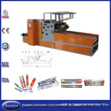 La mejor calidad y servicio línea de la máquina de fabricación de papel de aluminio