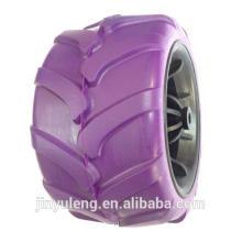 175x100 cm, ancho, rueda de espuma de PU para ATV, carro plegable
