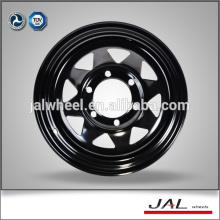 Quente 4x4 rodas para Trailer / Jeep à venda Steel Wheel Rims