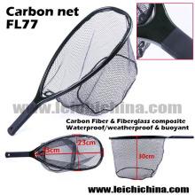 Nova rede de aterragem de pesca de fibra de carbono de Design