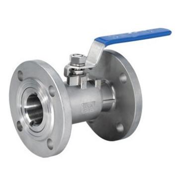 1 PC de Aço Inoxidável 304/316 Flange Válvula de Esfera (tipo de guang)