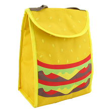Customized for Cooler Bag Backpack Special Hamburger Good Appetite Kids Lunch Cooler Tote supply to Lao People's Democratic Republic Wholesale