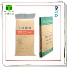Seam Bottom Kraft Paper Bag pour les plastiques techniques