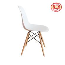 Cadeira de plástico moderna cadeira de jantar de elefante de plástico para a sala de espera