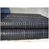 Plastic Biaxial Geogrid For Steepening Slope Protection , 500g Weight
