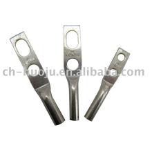Terminal de compresión de cobre de 2 orificios
