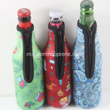 Pemindahan haba Custom Neoprene Insulated Bottle Holder