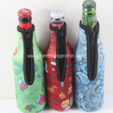 Heat Transfer Custom Neoprene Insulated Bottle Holder
