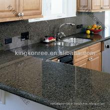 Plans de travail / comptoirs de cuisine en marbre artificiel à haute densité