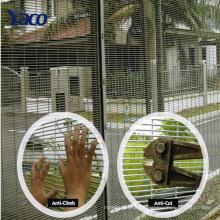 Hochsicherheitszaunsicherheitsstahlsicherheitsfensterzaun für Gefängnis